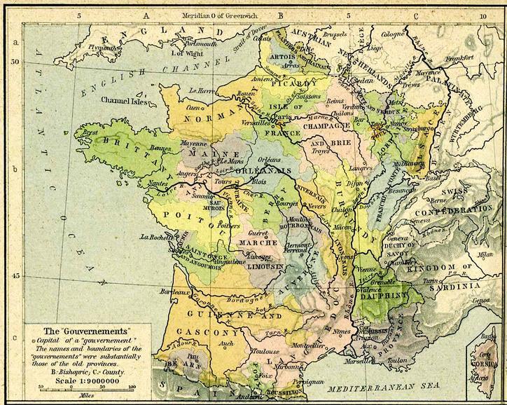 Upptack Frankrikes Regioner Drupal